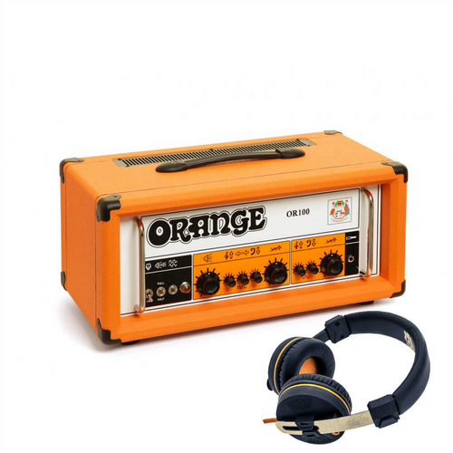 Orange OR100 Twin Channel Head 100 Watts FREE OR100 HEADPHONES